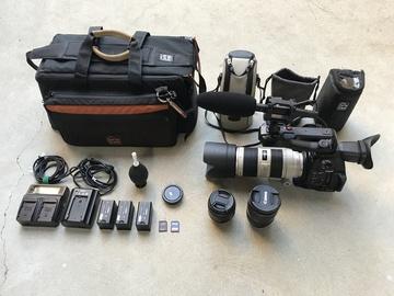 Rent: Canon C100 MKII, 70-200 2.8L II,  16-35 2.8L II, 24-105, Mic
