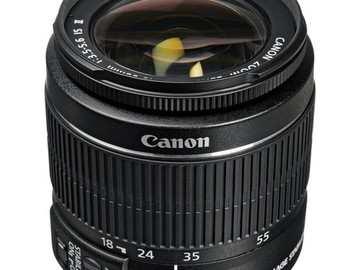 Rent: Canon EF-S 18-55mm f/3.5-5.6 IS II SLR Lens