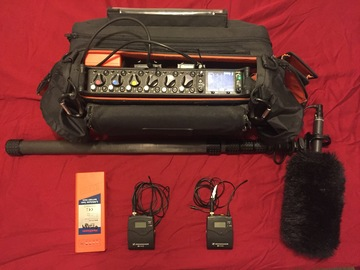 Sound Devices 664 / (2) Sennheiser G3's / Rode NTG-2