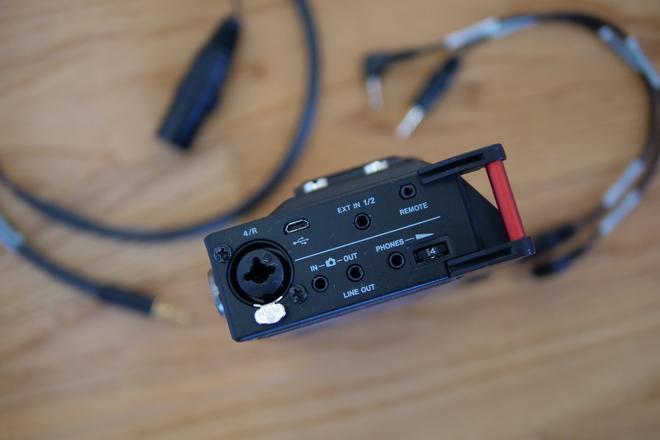 Tascam DR70 w/Lav Kit