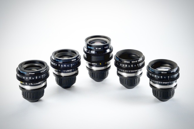 Zeiss Super Speed Primes (B-Speeds) - Rehoused by Samcine