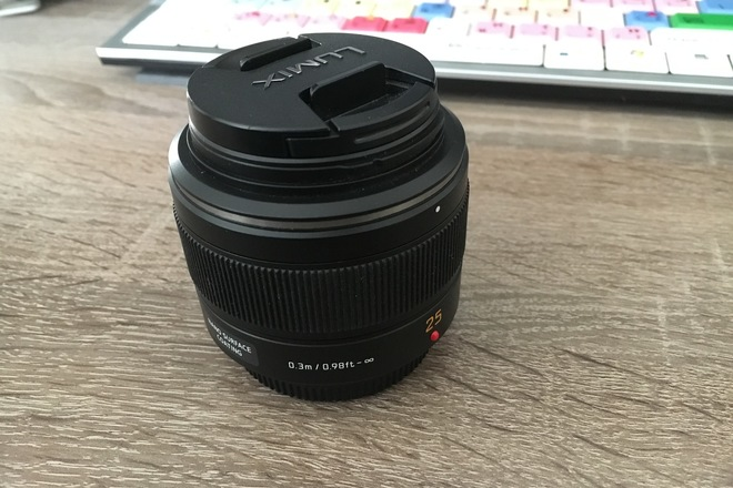Panasonic 25mm f/1.4 ASPH. Lens