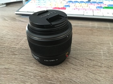 Panasonic 25mm f/1.4 ASPH. Lens