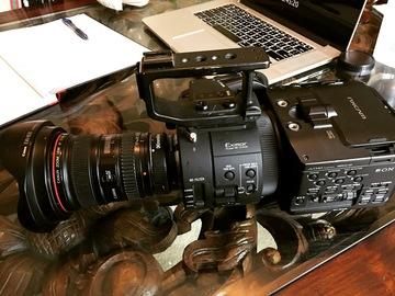 Rent: Sony NEX FS700R Super 35 Cinema Camera