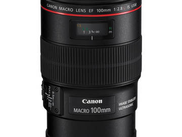 Rent:  Canon EOS 100 f2.8L MACRO IS USM