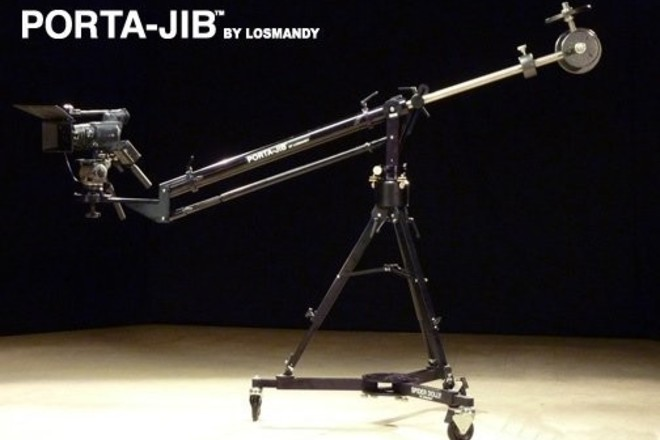 Porta Jib Standard light to heavier rigs up to 100 pounds