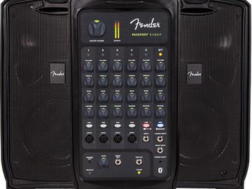 Rent: Fender Fender Passport EVENT Kit with Speaker Stands