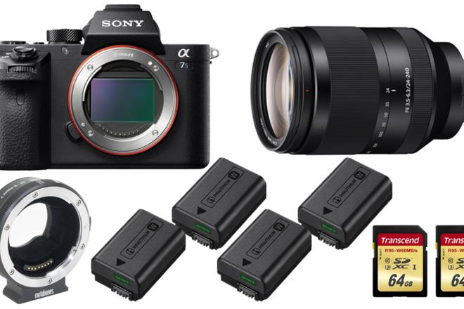 Sony a7S II w/ Lens and Metabones Rental Kit