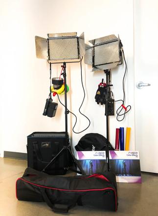 Aputure Light Storm Interview Lighting Kit