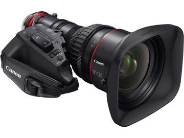 Rent: Canon Cine-Servo 17-120mm T2.95 EF or PL Mount