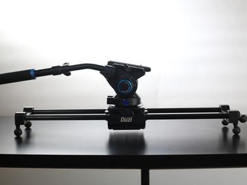 Rent: Duzi 24'' Slider With 75mm S6 Benro head