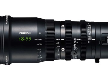 Rent: Fujinon MK 18-55 T2.9