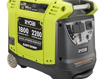 Rent: RYOBI 2200W Generator