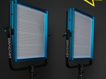 Rent: 2 Dracast LED1000 Pro Bi-Color LED [2-Light Kit] with Stands
