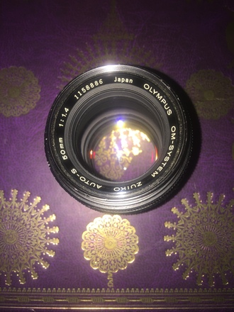 Vintage Prime Olympus Zuiko 50mm f1.4 L