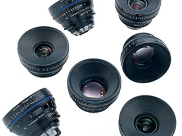 Rent: Zeiss CP.2 Prime Lens Set of 6
