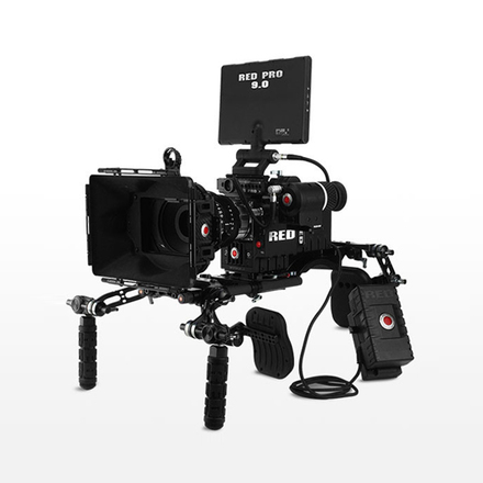 RED Epic Dragon with Tripod and Shoulder Rig