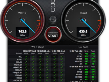 Rent: 16TB RAID enclosure with thunderbolt/available Mac OS boot