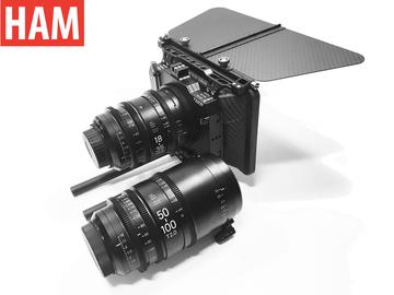 Rent: (Canon EF) Sigma 18-35mm Cine T2, 50-100mm, Tilta Matte Box
