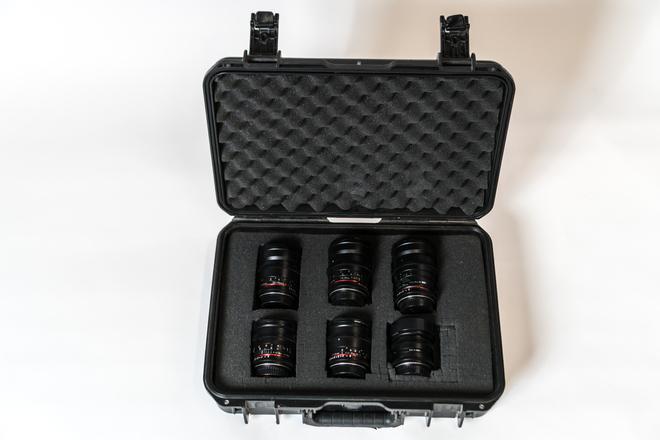 Rokinon Cine Prime Set EF  (16mm, 24mm, 35mm, 50mm, 85mm)