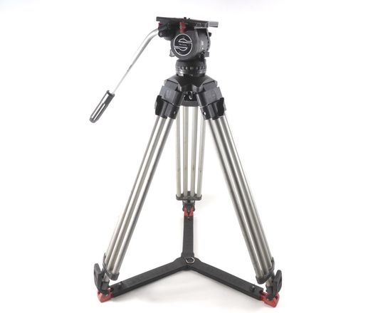 Sachtler Video 18 II with sticks and case