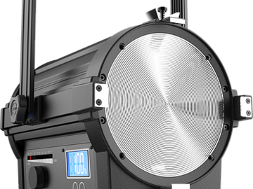 Rent: RAYZR 7 - 300W LED Fresnel (Aputure 300D competitor)