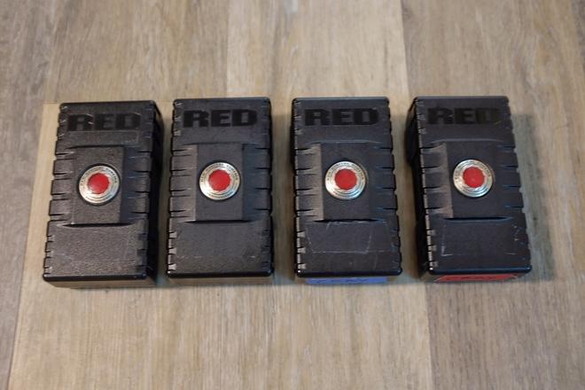4x Red Brick Batteries