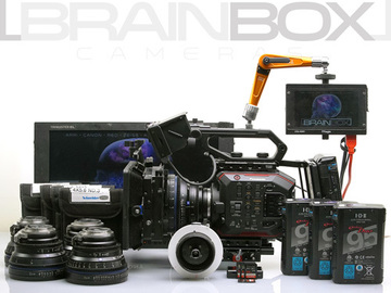Rent: Panasonic EVA-1 (AU-EVA1) 5.7K Compact Cinema Camera