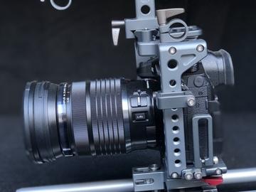 Panasonic GH5 / Tilta cage / Sigma 18-35 /50-100 EF Mount