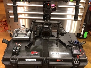 Rent: MoVI Freefly M10 3-Axis Motorized Gimbal Stabilizer Package
