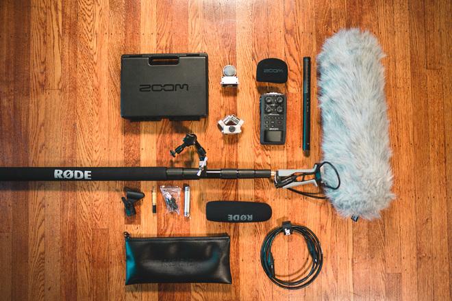 Rode NTG4+ Mic Boom Kit w/ H6 Recorder