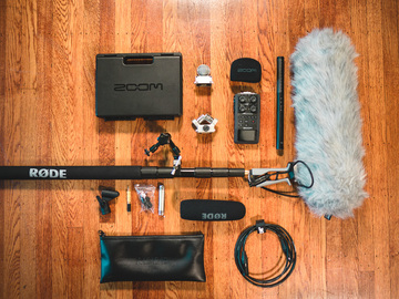 Rode NTG4+ Mic Boom Kit w/ H6 Recorder