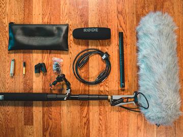 Rode NTG4+ Mic Boom Kit
