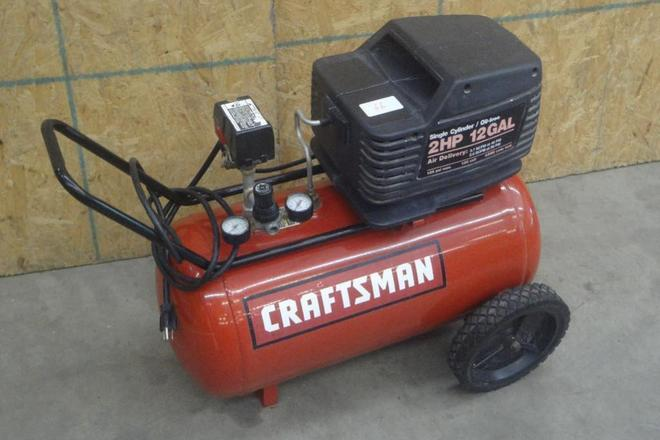 Rent a Craftsman 12 Gallon 2 HP Air Compressor, Best Prices