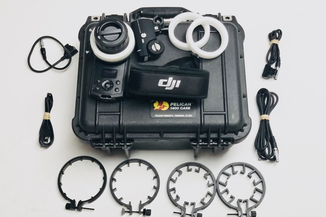 DJI Focus - Controller and Motor package w/d-tap multi-tap