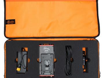 Aladdin Bi-Flex2 Bi-Color V-Mount w/ Batteries & Stand