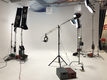Rent: Jib with Remote Controlled Pan&Tilt Head + Operator (+$350)