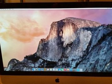 Rent: 2011 27' Imac  with Tangent Ripple