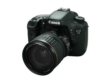 Rent: Canon 7D Lens Package
