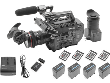 Rent: Sony PXW-FS7, Canon 24-105mm f/4L, (4) 128GB (4) Batteries