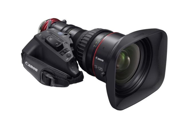 Canon 17-120 Cine Servo lens in PL OR EF mounts