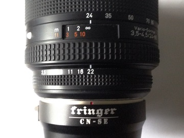 Rent: Zeiss 24 - 85mm Zoom Lens