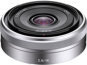 Rent: Sony E 16mm T2.8 Wide Angle Lens