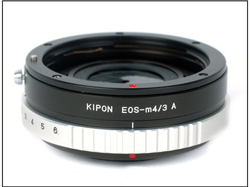Rent: Kipon EOS-m4/3 Adapter