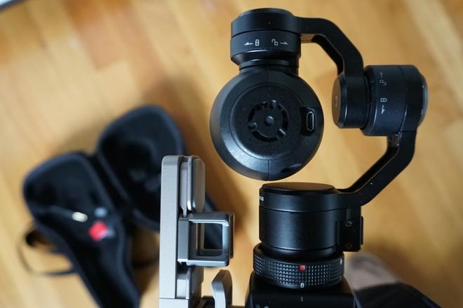 New DJI OSMO 4K Camera with external Mic