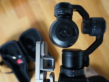 Rent: New DJI OSMO 4K Camera with external Mic