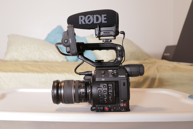 Canon C200 + Lens + Mic + Package (1 of 2)