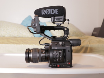Rent: Canon C200 + Lens + Mic + Package (1 of 2)