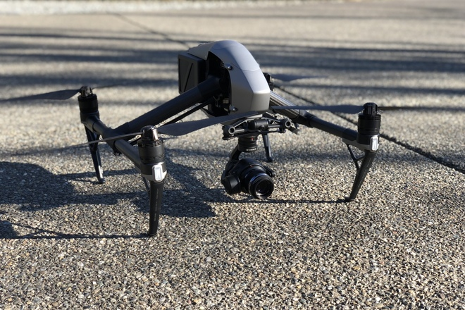 DJI Inspire 2 Quadcopter w/ X5s & Licensed Pilot (if needed)