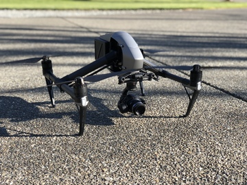 Rent: DJI Inspire 2 Quadcopter w/ X5s & Licensed Pilot (if needed)